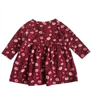 Carter's! Girl's Long Sleeve Floral Dress size 9M